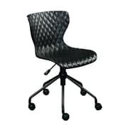 Varick Gallery Sandler Desk Chair; Black