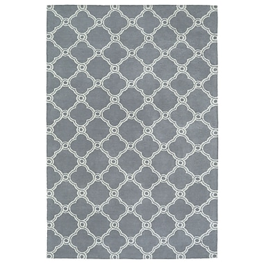 Varick Gallery Sandstrom Gray Area Rug; 8' x 10'