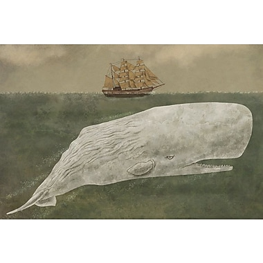 Varick Gallery Far From Nantucket Graphic Art on Wrapped Canvas; 8'' H x 12'' W x 0.75'' D