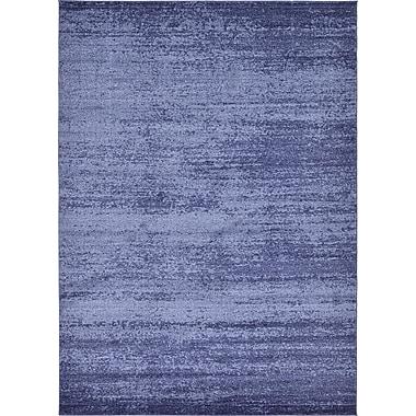 Varick Gallery Wyble Blue Area Rug; 8' x 11'