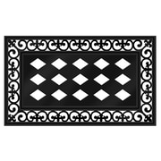 Varick Gallery Satterwhite Scroll Doormat