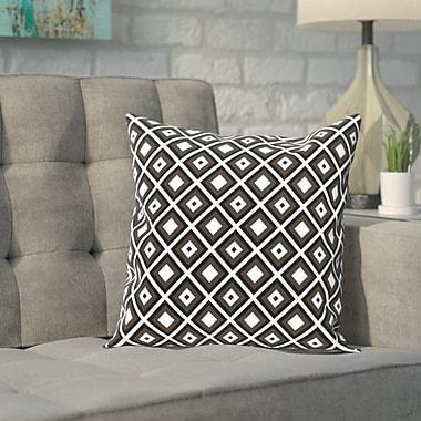 Varick Gallery Carnell Throw Pillow; 16'' H x 16'' W x 2'' D
