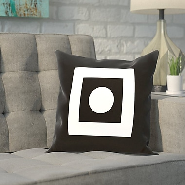 Varick Gallery Carnell Throw Pillow; 18'' H x 18'' W x 2'' D