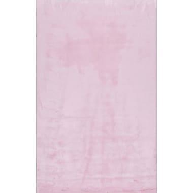 Varick Gallery Shadwick Pink Area Rug; 3' x 5'