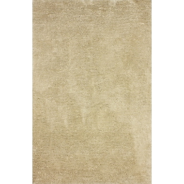 Varick Gallery Shadwick Hand-Tufted Tan Area Rug; 7'6'' x 9'6''