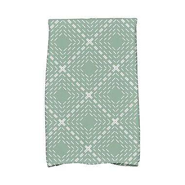 Varick Gallery Kitchen Towel; Green