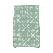 Varick Gallery Kitchen Towel; Green