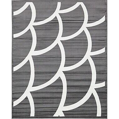 Varick Gallery Sidney Gray Area Rug; 8' x 10'