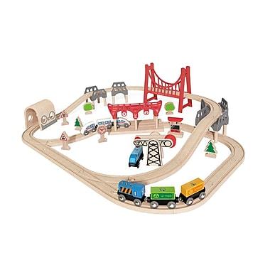 Hape Double Loop Railway Set (E3712)