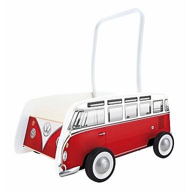 Hape Classical Bus T1 Walker (Red) (E0379)