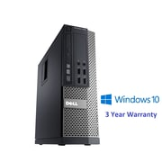 Dell – PC de table compact 7010 remis à neuf, Intel Core i5 3470 3,2 GHz, DD 250 Go, DDR3 4 Go, Windows 10 Famille (64 bits)