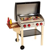 Hape – Barbecue du chef (avec aliments) (E3127)