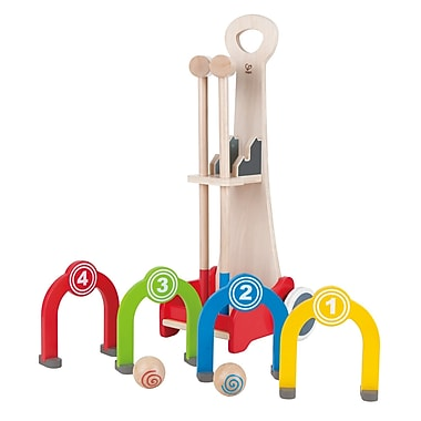 Hape Rainbow Croquet Caddy (E8127 )