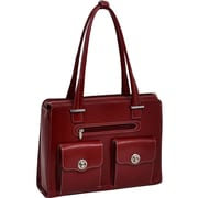 "McKleinUSA 15.4"" Leather Fly-Through™ Checkpoint-Friendly Ladies' Laptop Briefcase (96626)"