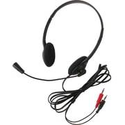 CALIFONE 3065AV LIGHTWEIGHT HEADSET MIC 3.5MM 6FT (3065AV)