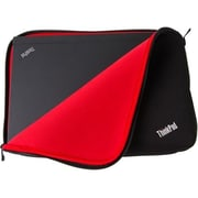 "Lenovo Carrying Case (Sleeve) for 12"" Notebook, Black, Red (4X40E48909)"