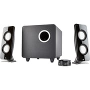 Cyber Acoustics Curve Immersion 2.1 Speaker System, 30 W RMS (CA-3610)