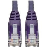 Tripp Lite 2ft Cat6 Snagless Molded Patch Cable UTP Purple RJ45 M/M 2' (N201-002-PU)