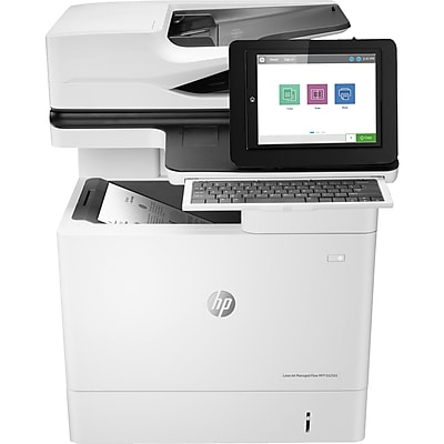 HP LaserJet E62565h Laser Multifunction Printer, Monochrome, Plain Paper Print, Desktop (J8J74A#BGJ)