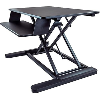 StarTech.com Sit Stand Desk Converter, With 35