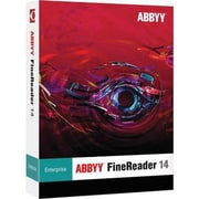 ABBYY® FineReader v.14.0 Enterprise Upgrade Software, 1 User, Windows, DVD-ROM (FREUW14B)