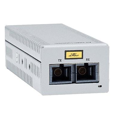 Allied Telesis® DMC1000/SC Gigabit Ethernet To Fiber Desktop Media Converter with USB Power