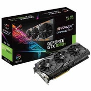ASUS® ROG STRIX-GTX1080TI-11G-GAM Strix NVIDIA GeForce® GDDR5X PCI Express 3.0 11GB Gaming Graphic Card