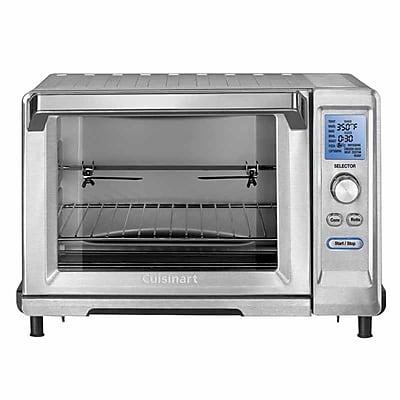 Cuisinart 0.8 Cu Ft Rotisserie Convection Toaster Oven (TOB-200N) IM14U1469