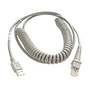 Datalogic 9' USB PSC Coiled Cable for Gryphon Desk D432 2D Scanner (90A052043)