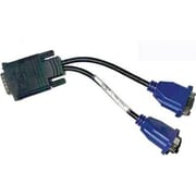 Dell™ 310-4469 Dual DVI To VGA/VGA To DVI Y Cable Kit, Black