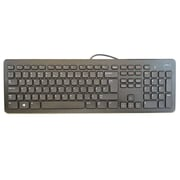 Dell™ USB Wired Slim Multimedia Keyboard, Black (KB213P)