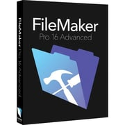 FileMaker® Pro v.16 Advanced Upgrade Business Software, 1 User, Windows/Mac (HL2G2ZM/A)