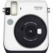 Fujifilm instax Mini 70 Camera with Mini Candypop Film, 60 mm, Moon White