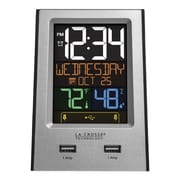 "La Crosse® Indoor 3.74"" x 2.4"" x 5.24"" Digital Alarm Clock (617-1614)"
