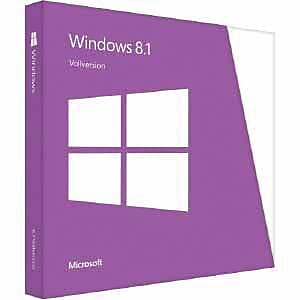 Microsoft® Windows 8.1 64-Bit License Software, Windows, DVD-ROM (WN7-00615)