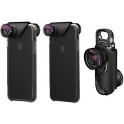 Olloclip® Core Lens Set with Ollo Case for iPhone 7/7 Plus, Black (OC-0000216-EU)