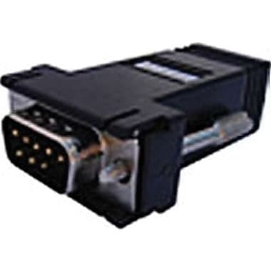 Perle IOLAN RJ-45 To DB9 Female/Male Crossover Adapter, Black, 8/Pack (04031270)