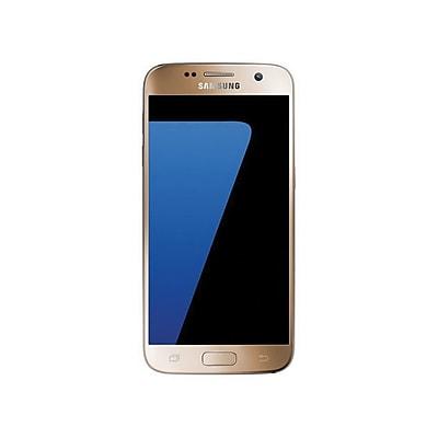 Samsung Galaxy S7 Unlocked Smartphone, 4GB, Gold Platinum (SM-G930UZDAXAA)