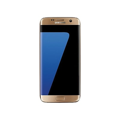Samsung Galaxy S7 Edge Unlocked Smartphone, 4GB, Gold Platinum (SM-G935UZDAXAA)