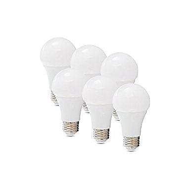 Verbatim® A-Type A19 LED Light Bulb, 60 W, 6/Pack (99900)