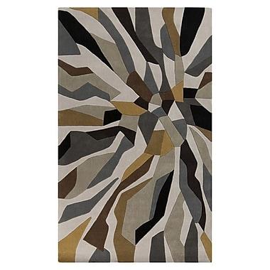 Varick Gallery Conroy Bone Area Rug; 3'6'' x 5'6''