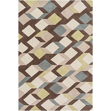 Varick Gallery Conroy Hand-Tufted Area Rug; 5' x 8'