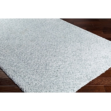 Varick Gallery Klima Blue/Gray Area Rug; 5' x 7'6''