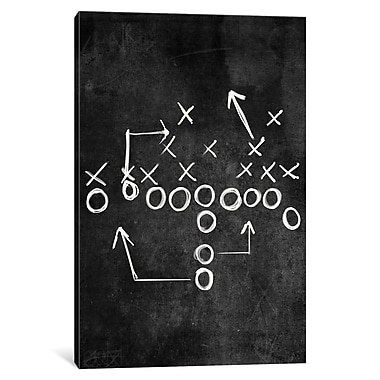 Varick Gallery Strong Side Flank Graphic Art on Wrapped Canvas; 26'' H x 18'' W x 1.5'' D