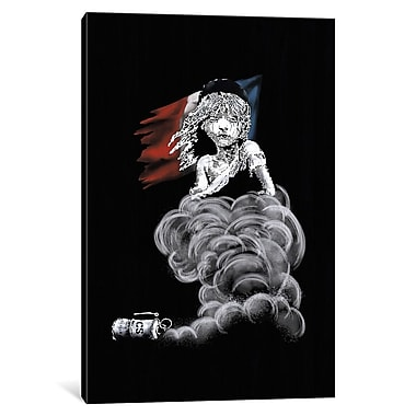 Varick Gallery Les Miserables at Midnight Graphic Art on Wrapped Canvas; 12'' H x 8'' W x 0.75'' D