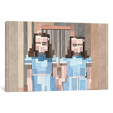 Varick Gallery Grady Twins Graphic Art on Wrapped Canvas; 18'' H x 26'' W x 1.5'' D