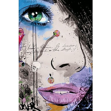 Varick Gallery The Strength of Psyche Graphic Art on Wrapped Canvas; 26'' H x 18'' W x 1.5'' D