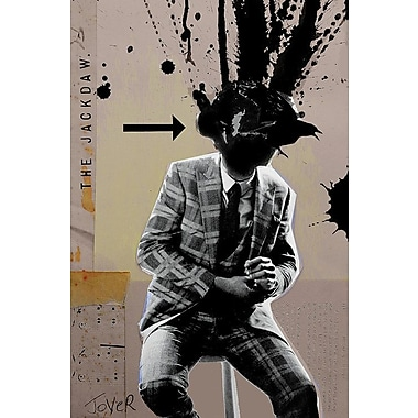 Varick Gallery Where is My Mind Graphic Art on Wrapped Canvas; 12'' H x 8'' W x 0.75'' D