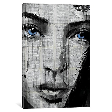 Varick Gallery Winter's Way Graphic Art on Wrapped Canvas; 18'' H x 12'' W x 1.5'' D