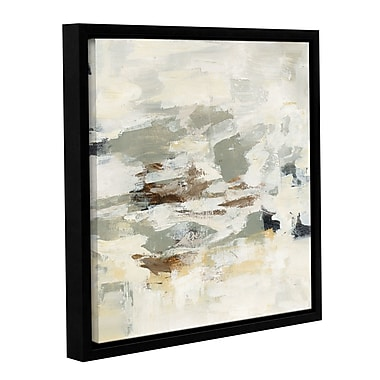 Varick Gallery Steps on Stones II Framed Painting Print on Wrapped Canvas; 10'' H x 10'' W x 2'' D
